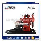 equipamento Drilling de poço de água da perfuração Xy-100 de 100m mini