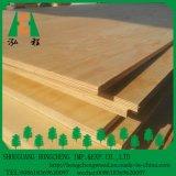 Madera contrachapada de madera de la chapa del pino/madera usada madera contrachapada comercial de la madera