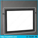 Cornice di cristallo del segno della casella chiara di qualità LED del Ce