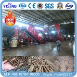 chaîne de production de boulette de cosse du bois de chine 3t/H/riz en vente