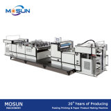 Máquina de estratificação Glueless da película térmica semiautomática de Msfy-1050b