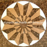 Wall와 Floor Decoration를 위한 대리석 Stone Waterjet Medallion Tiles