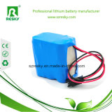 Bloco 18650 7.4V 3000mAh da bateria recarregável para ferramentas de potência