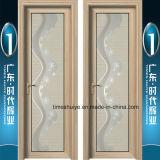 Porta de alumínio do chuveiro da vitrificação dobro