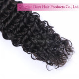 Les cheveux humains personnalisés des types 100% empaquettent le cheveu de Brésilien de Vierge d'onde d'eau