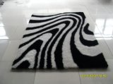 Modern Design Long Pile Shaggy Polyester Silk Floor Carpet