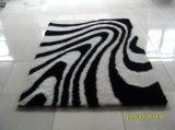 Het moderne Tapijt van de Vloer van de Zijde van de Polyester van de Stapel van het Ontwerp Lange Ruwharige