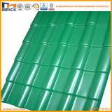 Mattonelle di tetto della resina sintetica delle mattonelle di tetto della resina sintetica Asa+PVC