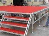Fase piegante mobile di evento della lega di alluminio della fase di vendita calda