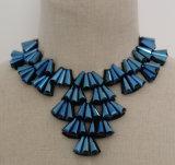 Nuevo collar cristalino moldeado hecho a mano del collar del ahogador del traje 2015