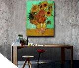Schilderen van de Kunst van de Bloem van het Mes van het stilleven het Met de hand gemaakte op Canvas