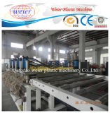 Linha de produção de madeira da folha da placa da espuma da crosta do PVC do plástico WPC