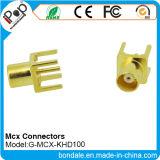 Conetor MCX Khd100 coaxial dos conetores para MCX conetores
