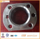 La haute précision usinant l'acier inoxydable personnalisé a modifié la bride hydraulique