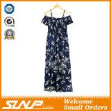 Женщины печатание способа лета новые освобождают длиннее платье