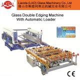 para as bordas de vidro e a linha de produção de vidro da afiação de vidro do dobro do carregamento