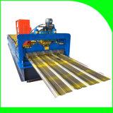 El azulejo de material para techos lamina la formación de la máquina con el sistema de control del PLC