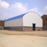 Het bouw Geprefabriceerde Pakhuis van de Structuur van het Staal