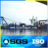 工場直接海の浚渫船