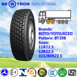 10.00r20 BIS Approved Tyre, 10r20 Boto Radial Truck Bus Tyre