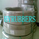 Tubo flessibile di Teflon Braided dell'acciaio inossidabile del tubo flessibile del metallo flessibile