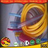 Tubo flessibile a fibra rinforzata idraulico ad alta pressione di plastica del PVC