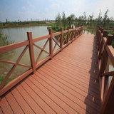 Decking ao ar livre oco recicl 100% da alta qualidade WPC de Baochu