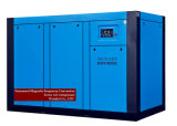 Compresor de aire rotatorio variable magnético permanente del tornillo del jet de petróleo de la frecuencia