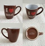 Colore di ceramica poco costoso del cioccolato della tazza del tè del caffè