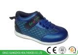 Спорт голубых/серебра новых малышей корректирующий ботинок детей обувает преимущество для плоской ноги
