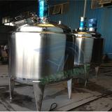 Serbatoio mescolantesi di raffreddamento e di riscaldamento dell'acciaio inossidabile