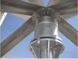 prezzo verticale del generatore di vento di asse 600W del generatore verticale di energia eolica