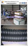 Le carbone de polyéthylène a renforcé la ligne de expulsion chaîne de production fabrication de pipe contrainte d'avance ondulée spiralée