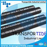Boyau hydraulique tressé de fil d'acier (1SN/2SN)