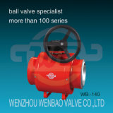Api 6D Trunnion Mounted Ball Valve pour Oil et Gas