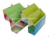 Alta calidad Hermosa cinta Medio Abierto Forma Irregular regalo bisagras Box