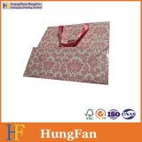 Мешок изготовленный на заказ симпатичного подарка бумажный с горячим штемпелюя логосом