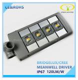 Cer RoHS anerkanntes 100W LED Straßen-Straßen-Licht mit IP67