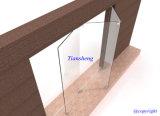 Portes pliantes en verre sans cadre, portes d'intérieur sans cadre, portes en verre