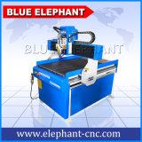 Ele 6090 ranurador del CNC de 4 ejes, ranurador de madera de las tallas del mini del CNC eje del ranurador 4 en China con el dispositivo rotatorio