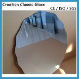 Подгонянное ясное алюминиевое зеркало мычки зеркала с ценой по прейскуранту завода-изготовителя