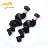 Estoque do cabelo de Alimina em 24 100 do brasileiro horas de Weave do cabelo