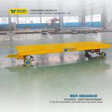 Carro industrial de carga de la plataforma de acero grande de la capacidad
