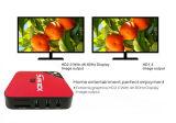 El rectángulo más caliente de Ott TV del androide 6.0 de E6 IPTV 1+8GB