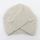Beanie шлема простирания типа Индии креста тюрбана способа женщин богемский связанный Slouchy (HW108)