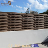 Guangdong-preiswerte Aluminiumgarten-Webart-zusammengesetztes Holz, das für Verkauf ficht