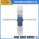 Tipo plástico medidor vertical do volume de água