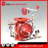 Tipo válvula de Zsfm Diaphram do dilúvio para o sistema de alarme da luta contra o incêndio