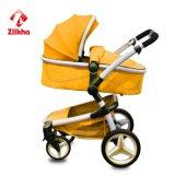 Carro de bebê 3 in-1 portátil Four-Wheeled promovido