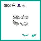 Boca del acero inoxidable de la categoría alimenticia con el vidrio de vista (VE-03)